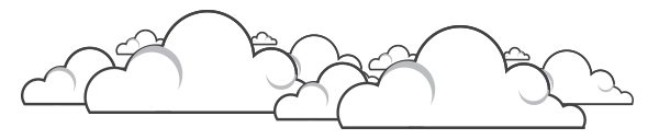 white cloud header image