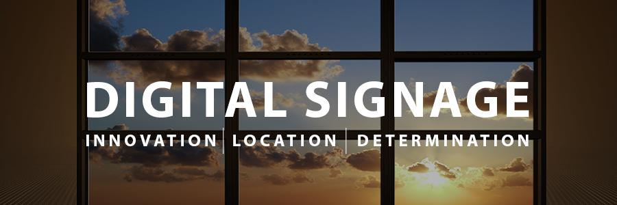 attention - digital signage