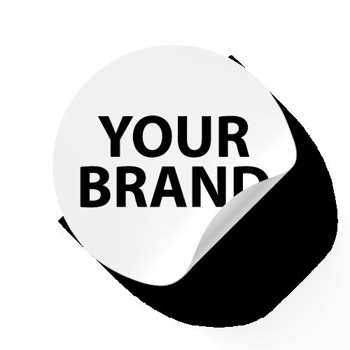 White Label Sticker